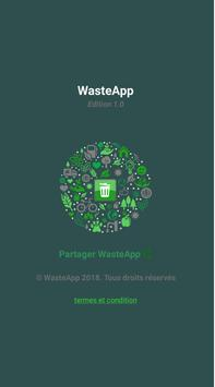 WasteApp poster