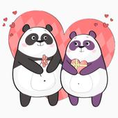 WAStickerApps - Panda Stickers For Whatsapp иконка