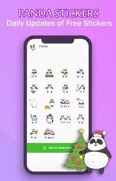 WAStickerApps - Panda Stickers For Whatsapp скриншот 1