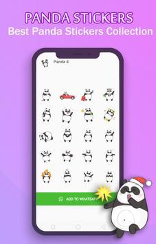 WAStickerApps - Panda Stickers For Whatsapp скриншот 3