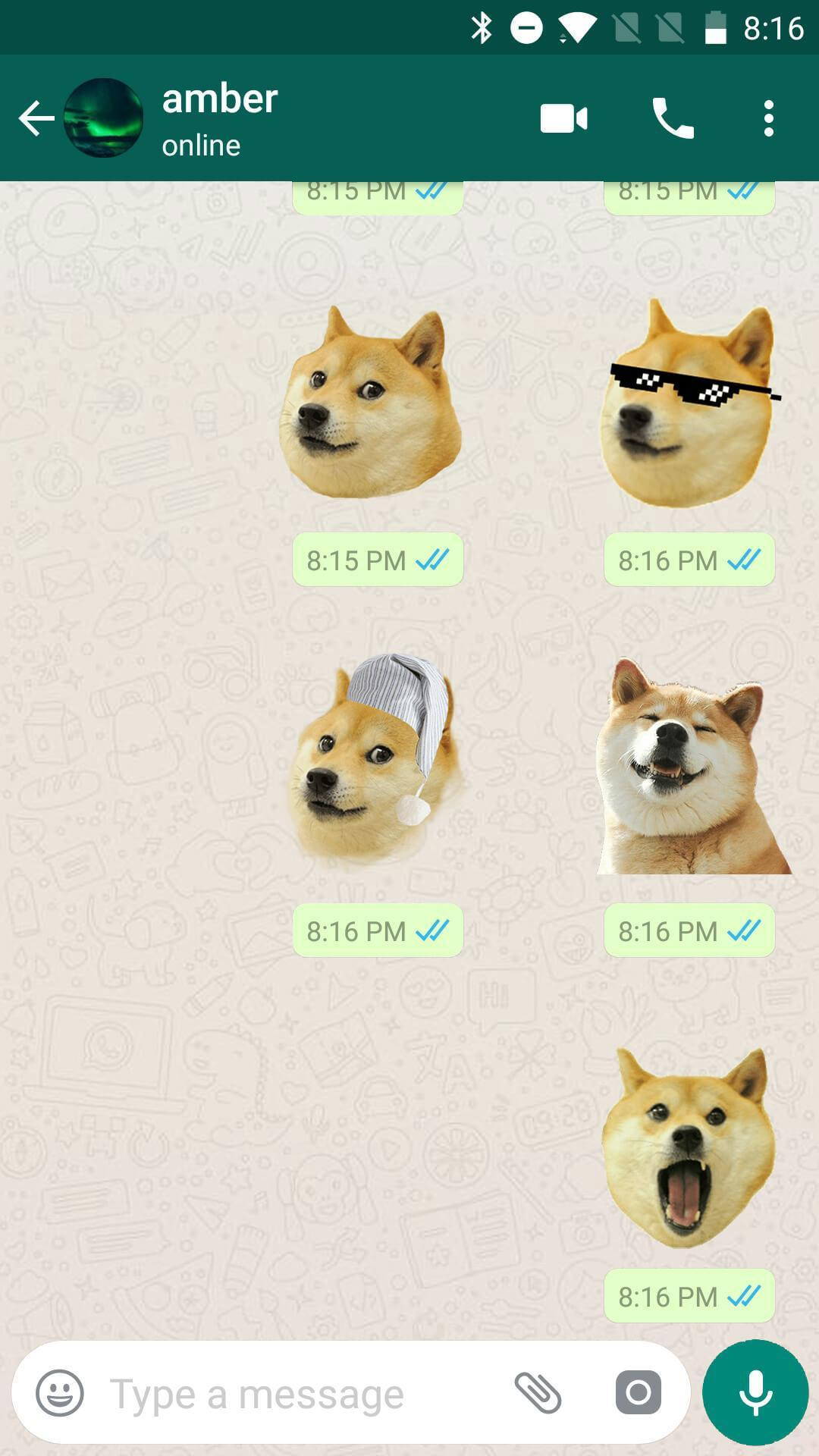 Doge Meme Stickers for WhatsApp, WAStickerApps for Android