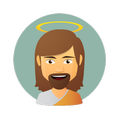 Jesus Christ Stickers for WhatsApp, WAStickerApps icono