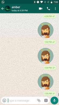 Jesus Christ Stickers for WhatsApp, WAStickerApps captura de pantalla 7