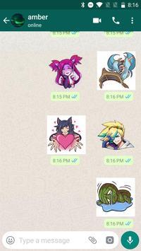 LOL--League Stickers for WhatsApp, WAStickerApps screenshot 4