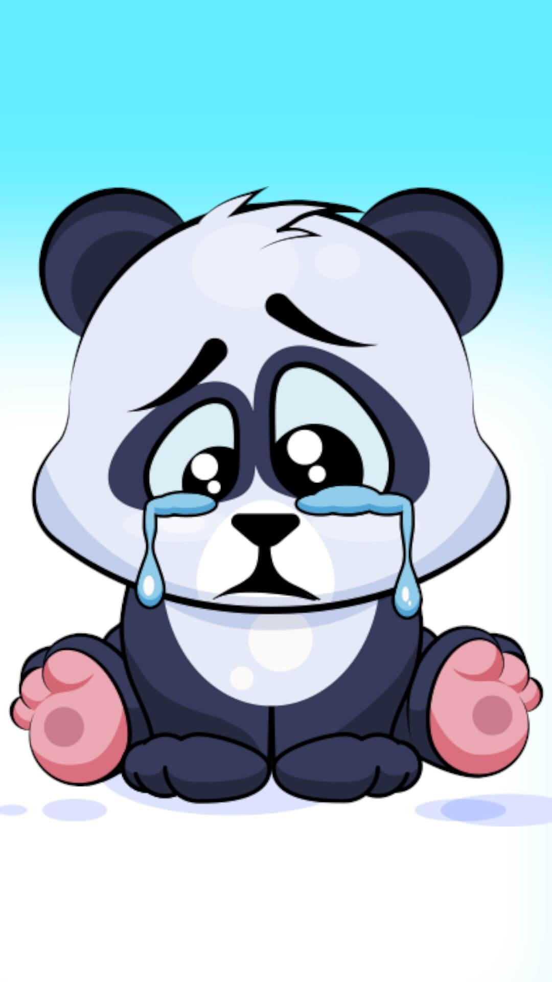 Cute Panda Sticker Pack For Whatsapp Wastickerapp For Android