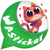 WAStickerApps: Anime Stickers For whatsapp أيقونة