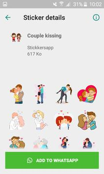 WAStickersapp - Be mine stickers for whatsapp poster
