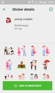 WAStickersapp - Be mine stickers for whatsapp screenshot 3