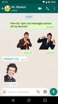 聊天的新貼紙- Stickers for WhatsApp 截图 12