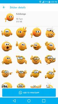 聊天的新貼紙- Stickers for WhatsApp 截图 17