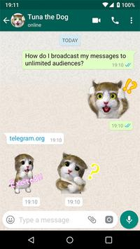 聊天的新貼紙- Stickers for WhatsApp 截图 14