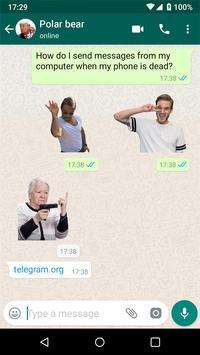 聊天的新貼紙- Stickers for WhatsApp 截图 15