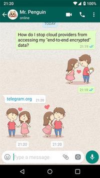 聊天的新貼紙- Stickers for WhatsApp 截图 18