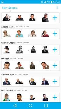 聊天的新貼紙- Stickers for WhatsApp 截图 3