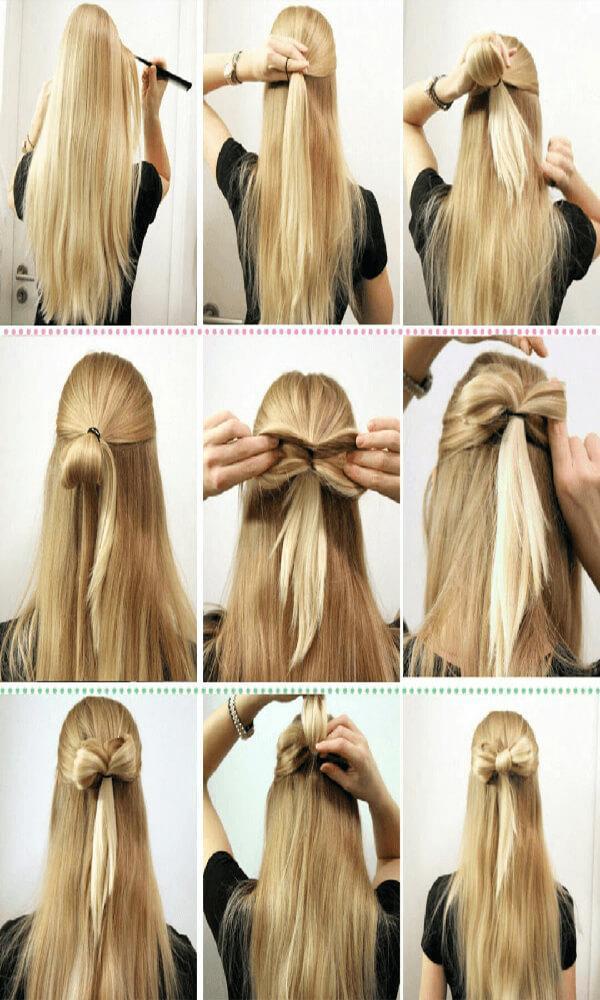 Nama aplikasi terbaru android Girls Hairstyle Step by Step