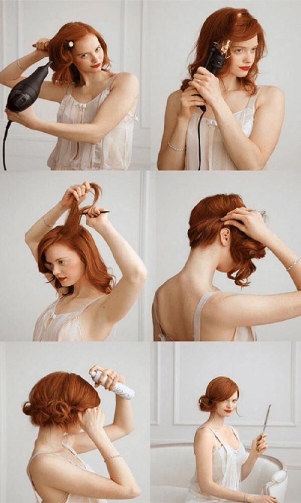 Aplikasi untuk android terbaik Girls Hairstyle Step by Step