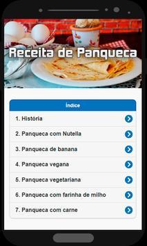 Receita de Panqueca poster