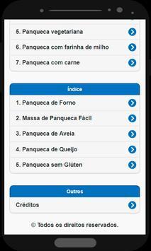 Receita de Panqueca screenshot 1