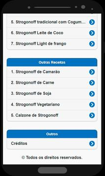 Strogonoff de Frango screenshot 1