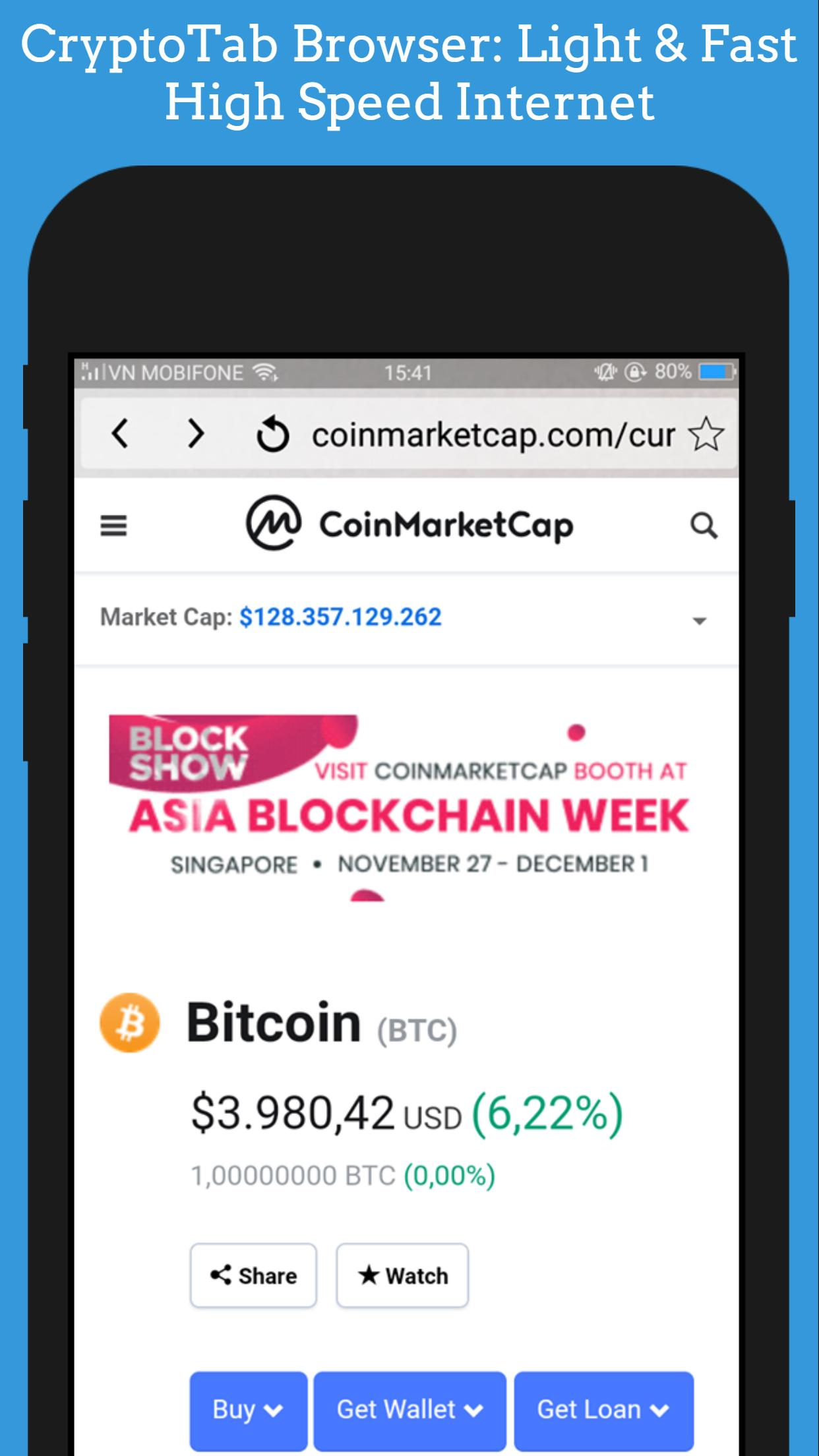 CryptoTab Browser Mini: Light & Fast - For Android for