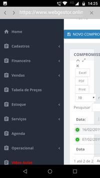 Web Gestor Software de Gestão screenshot 3
