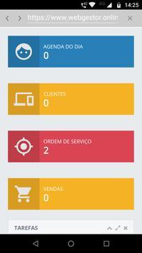 Web Gestor Software de Gestão screenshot 2