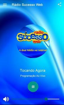 Rádio Sucesso Web screenshot 1