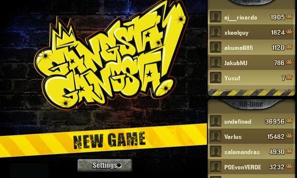 Gangsta Gangsta! poster