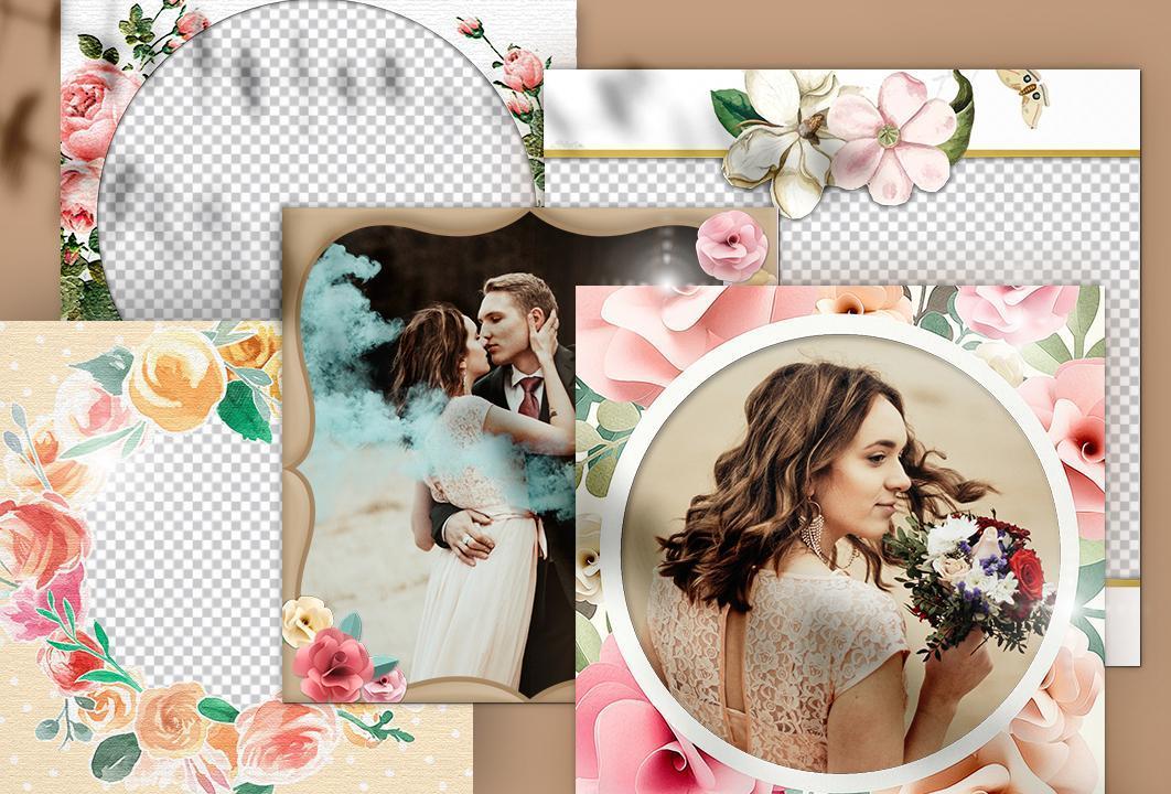 Слайд шоу из фотографий на свадьбу дочери без