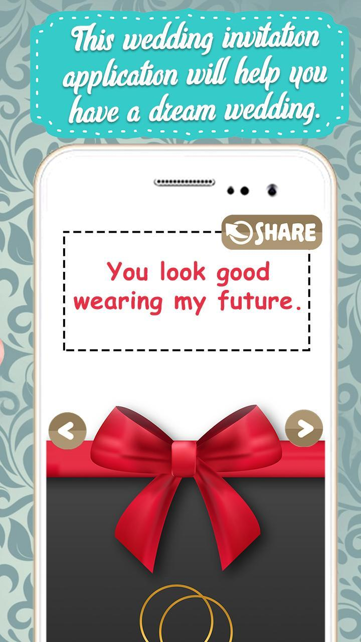 Wedding Invitation Card Maker Free For Android Apk Download