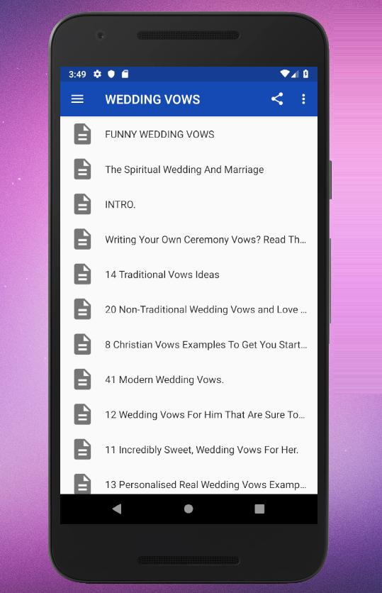 Wedding Vows For Android Apk Download