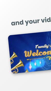 Invitation video maker & E cards from Bulaava screenshot 3