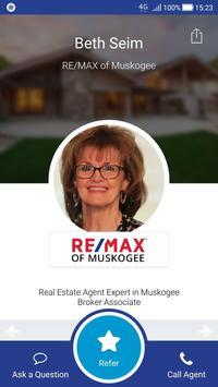 Beth Seim Muskogee Real Estate poster