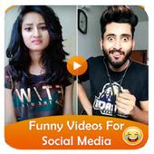 Funny Video for Social Media icon