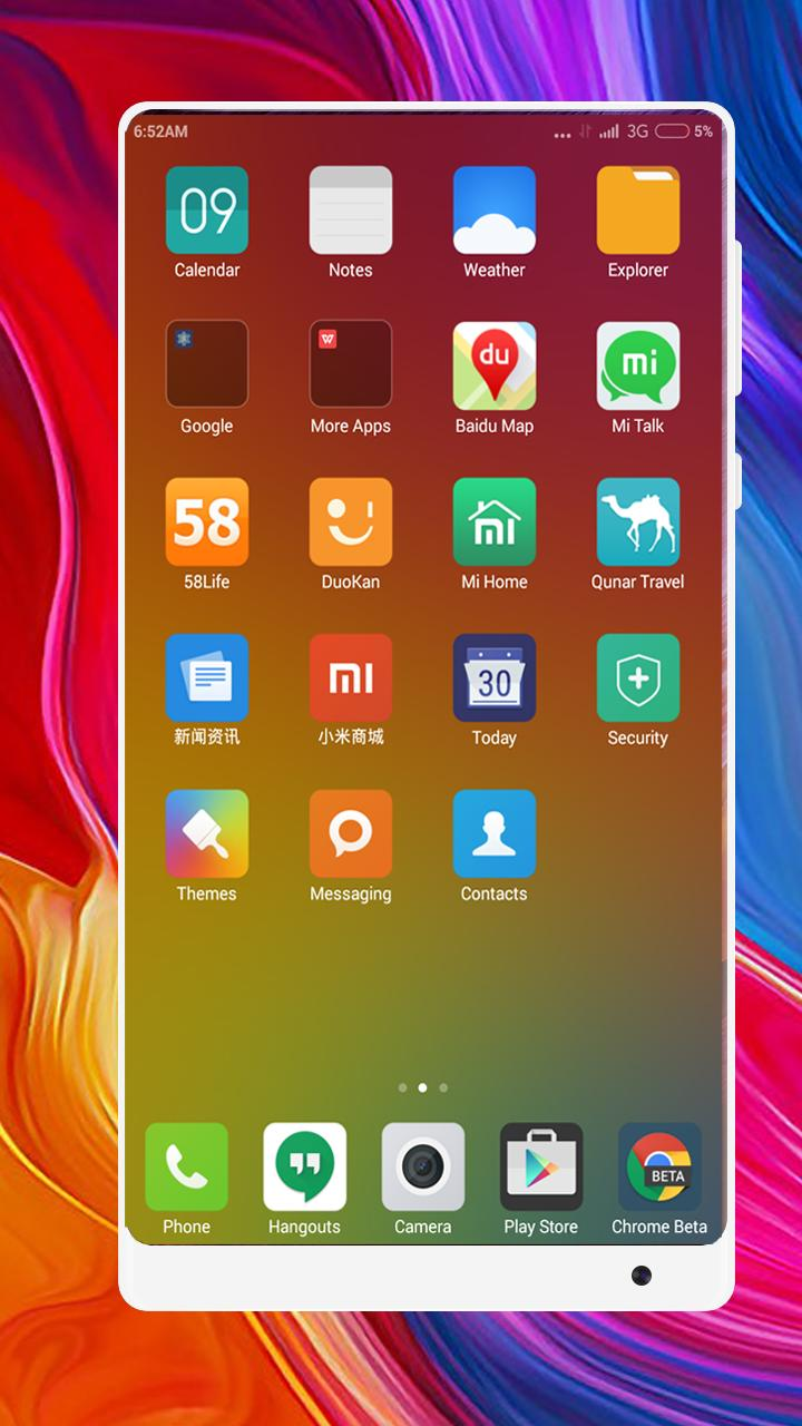 Mi 8 Pro Launcher Themes and Icon Pack for Android - APK