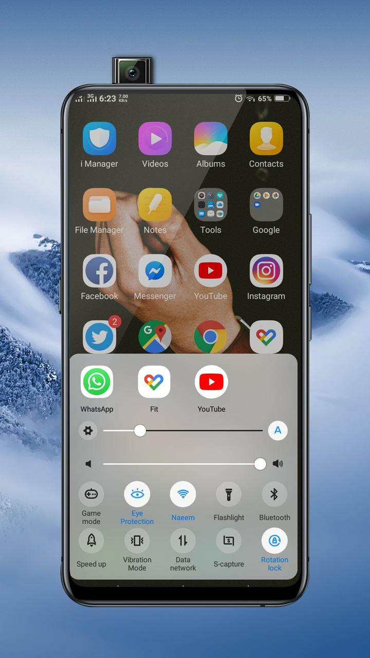 Vivo V15 Pro Launcher Themes and Icon Pack for Android - APK