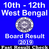 West Bengal Board Result 2019,10th & 12th Wb Board icon