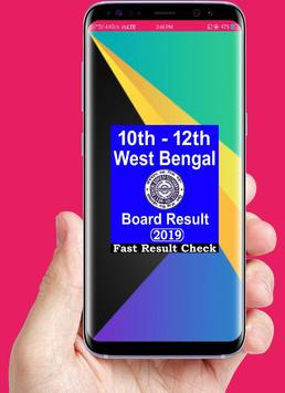 West Bengal Board Result 2019,10th & 12th Wb Board poster