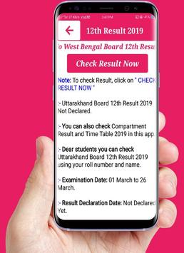 West Bengal Board Result 2019,10th & 12th Wb Board screenshot 3