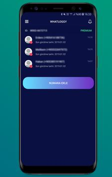 Whatloggy - Whats'App Online Notification poster