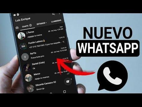 WhatsBlack screenshot 2