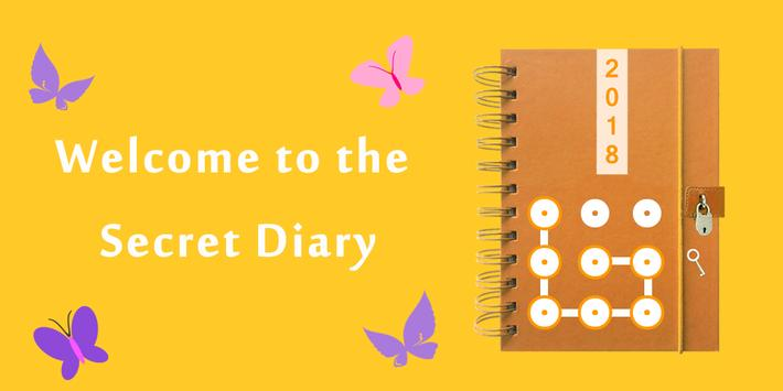 My Secret Diary With Password - Diary with Lock poster