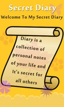 My Secret Diary With Password - Diary with Lock screenshot 2