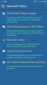 SAF Collect screenshot 5
