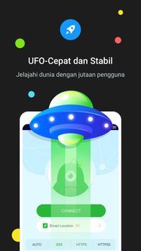 UFO VPN syot layar 1