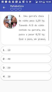 Matemática - 50 Questões screenshot 1