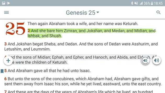 Bible KJV with Apocrypha, Enoch, Jasher, Jubilees screenshot 8