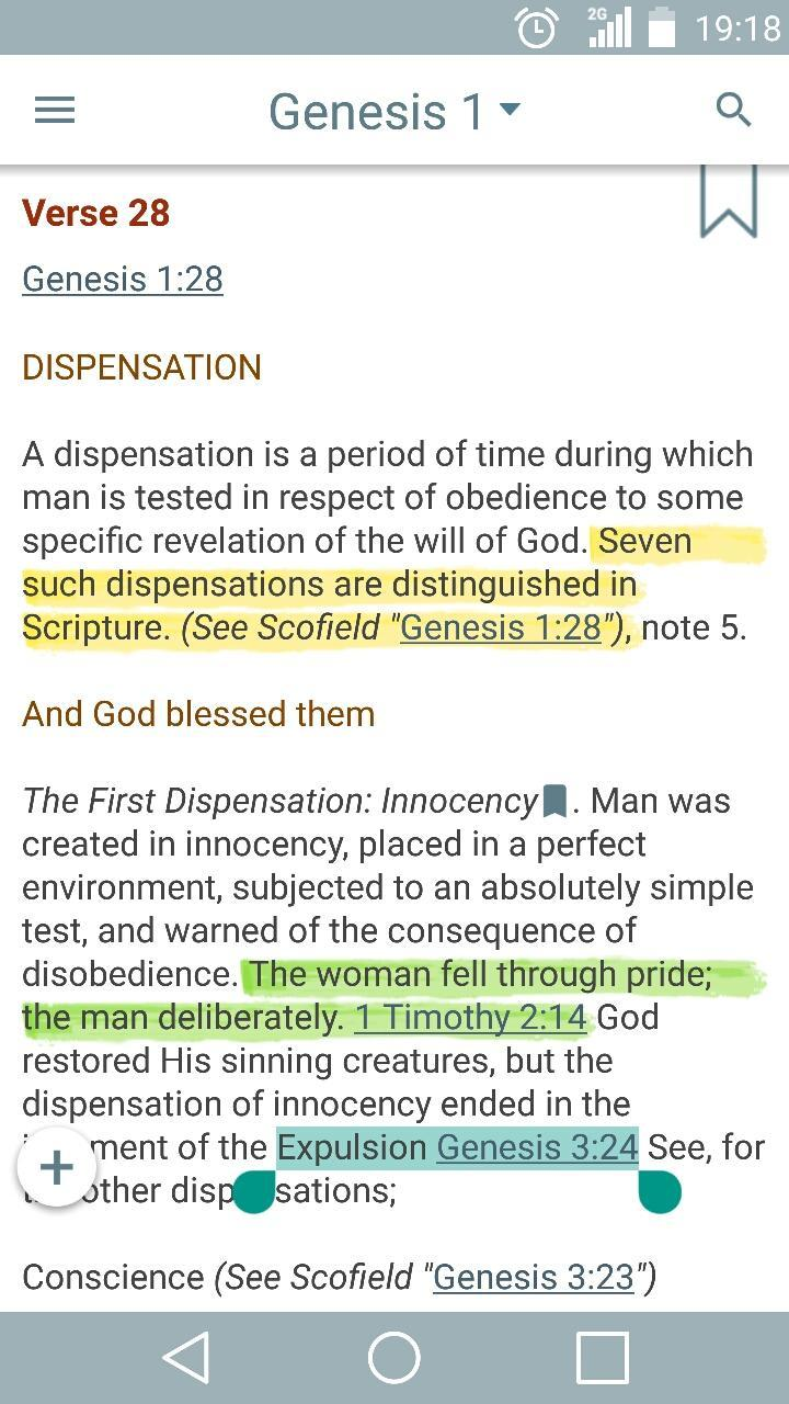 Scofield Reference Bible Notes for Android - APK Download