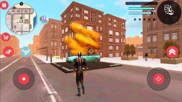 Immortal Tornado Flame Hero Vegas Crime Vice Sim screenshot 2