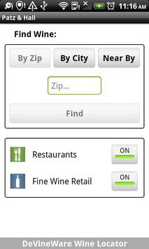 DeVineWare Wine Locator screenshot 2